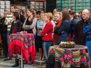 Spotkanie świąteczne w góralskim klimacie dla 220 pracowników Zakładu Firmy Cooper-Standard