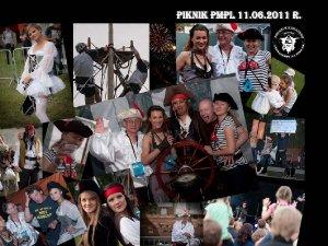 Pamiątkowe zdjęcie - Rodzinny piknik firmowy w tematyce ?PIRACI Z KARAIBÓW? dla firmy Philip Morris Polska S.A. 2011 r.