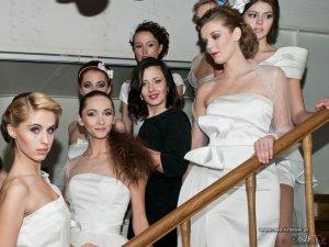 Modelki - Pokaz Kolekcji Ślubnej Firmy Blueberry Bride