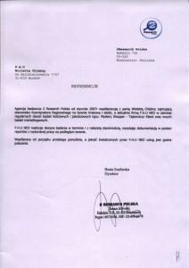 Referencje - 2 Research Polska